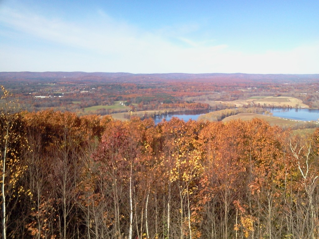 The view from Mount Nonotuck